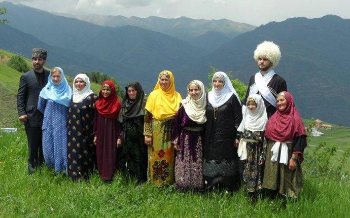 Фотографии :: Национальная одежда народов Дагестана - Односельчане
