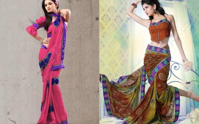 Индийский стиль в одежде - каллорит и традиции восточных красавиц