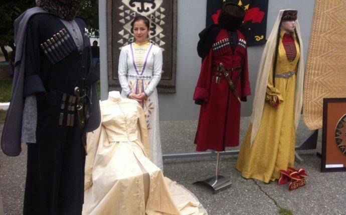 Национальная одежда кабардино-балкарцев - ius33.ru