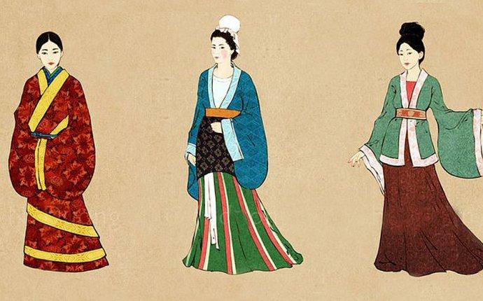 Одежда древнего китая картинки